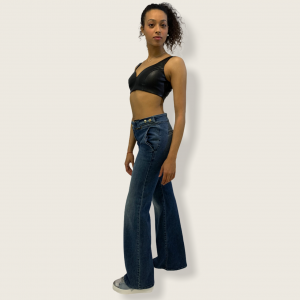 SHOPPING ON LINE PINKO JEANS FORTUNA FLARE NEW COLLECTION WOMEN'S SPRING SUMMER 2021
