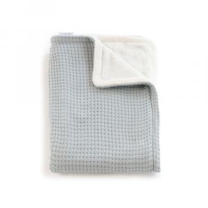 Copertina per culla La Ninna Mini Soft Ice Blu 100x75 cm
