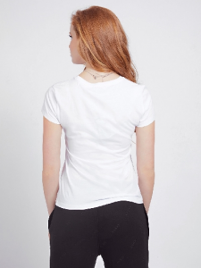 Guess T-Shirt Donna Logo Frontale