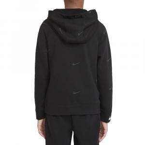 Nike Felpa Swoosh con Cappuccio da Bambino