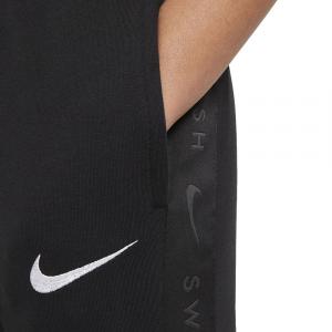 Nike Pantalone Swoosh Nero da Bambino