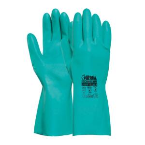 Guanti da lavoro in nitrile resistenti ai prodotti chimici Orma TechnoChem 21611