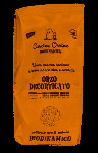 ORZO DECORTICATO BIODINAMICO