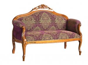 Sofa de salón clásico Fleur