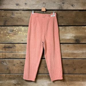 Pantalone Haikure Mod. Kobe in Velluto a Costine Rosa
