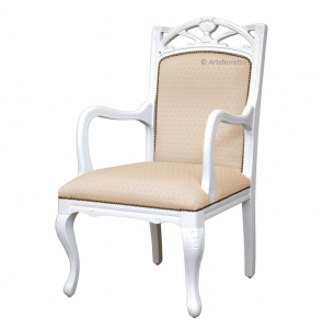 """Lacquered armchair """"Helena Burst"""""""