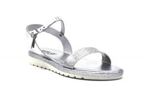 Finner sandalo effetto glitter