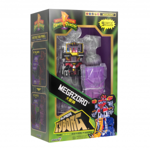 *PREORDER* Power Rangers: SUPER CYBORG MEGAZORD By Super7
