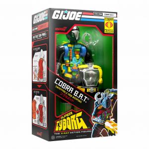 *PREORDER* G.I. Joe: SUPER CYBORG COBRA B.A.T. By Super7