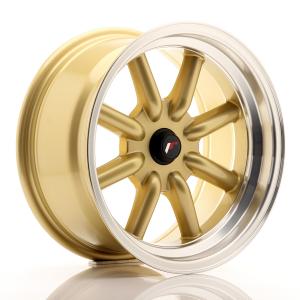 Cerchi in lega  JAPAN RACING  JR19  16''  Width 8   PCD Custom  ET ET Custom  CB 74,1    Gold
