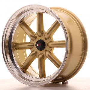 Cerchi in lega  JAPAN RACING  JR19  17''  Width 8   PCD Custom  ET ET Custom  CB 74,1    Gold