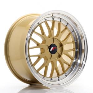 Cerchi in lega  JAPAN RACING  JR23  18''  Width 9,5   PCD Custom  ET ET Custom  CB 74,1    Gold