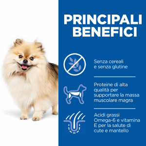 Hills' - Science Plan Canine - Small&Mini - Adult No Grain - Tonno - 1.5kg
