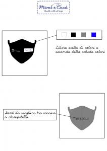 Mascherine personalizzate UOMO DONNA BAMBINO
