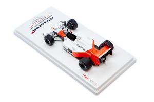 1988 McLaren Mp4/4 #11 Monaco Gp Winner Honda McLaren Alain Prost 1/43 TSM Model