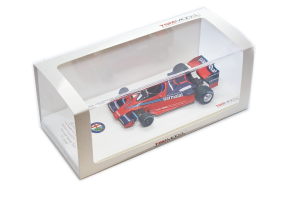 1978 Brabham BT46 Alfa Romeo 1 Monaco Grand Prix 2nd Place Parmalat Racing Team 1/43 TSM Model