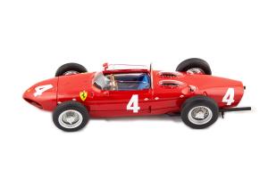 Ferrari Dino 156 Sharknose #4 Graf Berge V. Trips Winner British Gp F1 1/18 CMR