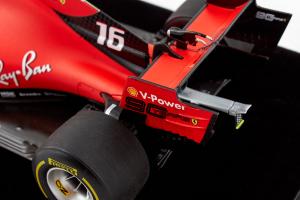 Ferrari Sf90 Winner Charles Leclerc Belgian Gp 2019 1/18 Looksmart