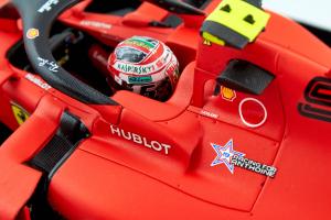 Ferrari Sf90 Winner Italian Gp 2019 Charles Leclerc 1/18 Looksmart