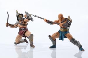 Combatants Fight for Glory - GLADIATOR Khnuba