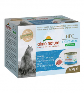 Almo Nature - HFC Cat - Megapack - Natural Light Meal - 4x50g
