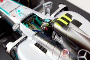 Mercedes Amg Nico Rosberg World Champion 2016 1/18 Minichamps