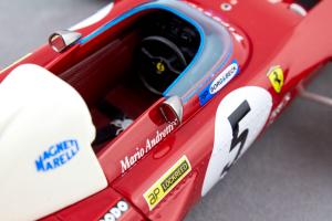 Ferrari 312 B2 1971 German Gp Car #5 M. Andretti Ltd 190 Pcs 1/18 Tecnomodel
