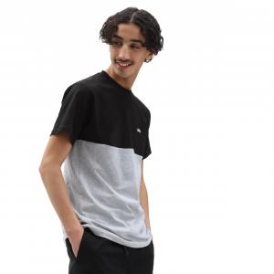 Vans Colorblock Logo T-Shirt | Colore Black & Grey