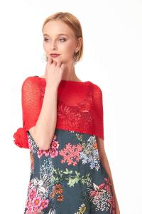 Ponchetto Ibiscus. Accessoires décontractés et chics pour femmes