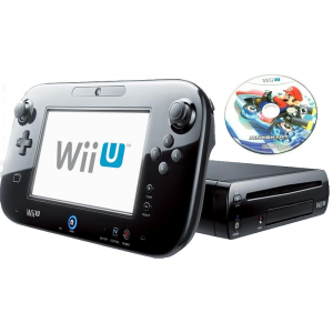 Console WiiU nera + MarioKart8 - USATA