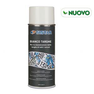 SPRAY VERNICE BIANCO TARGHE ML 400 - SISTAR