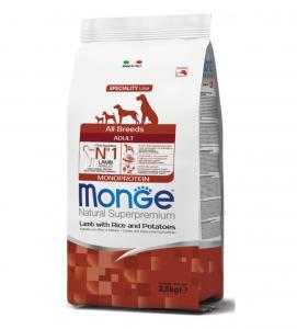 Monge - Natural Superpremium - All Breeds Adult - 2,5 kg