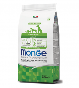 Monge - Natural Superpremium - All Breeds Adult - 2,5 kg