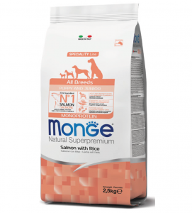 Monge - Natural Superpremium - All Breeds Puppy&Junior 2.5 kg