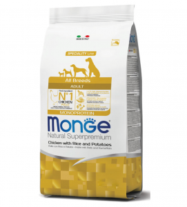 Monge - Natural Superpremium - All Breeds Adult - 12 kg