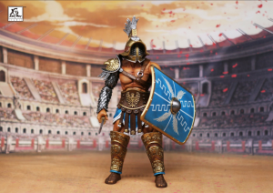 Combatants Fight for Glory - GLADIATOR Avitus The Victor by XesRay studio
