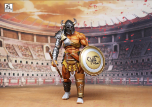 Combatants Fight for Glory - GLADIATOR Ambillus the Beetle by XesRay studio