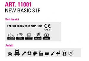 Scarpe da lavoro antinfortunistiche alte Orma New Basic 11001 S1P