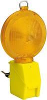 Lampeggiatore Stradale a 2 LED con Sensore Crepuscolare, Gialla