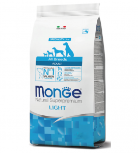 Monge - Natural Superpremium - All Breeds - Light - 12 kg x 2 sacchi