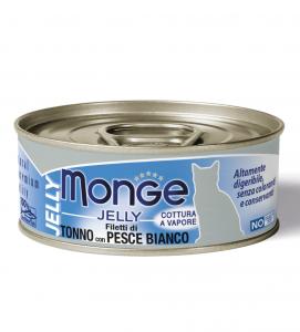 Monge Cat - Natural Superpremium - Jelly - Adult - 80g x 24 lattine