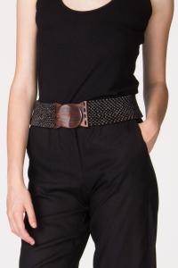 Cintura in legno nero. Cinture artigianali on line