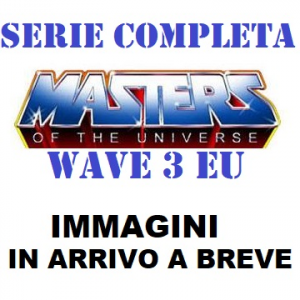 *PREORDER* Masters of the Universe ORIGINS Wave 3 EU: SERIE COMPLETA by Mattel 2021