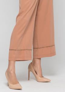 KOCCA Pantalone LAPSE gamba larga in tencel