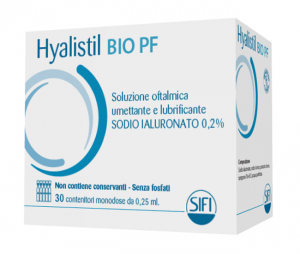 HYALISTIL BIO PF 0,2% 30FL SOLUZIONE OFTALMICA UMETTANTE E LUBRIFICANTE A BASE DI ACIDO IALURONICO