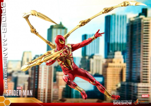 Marvel's Video Game VGM38 Spider-Man IRON SPIDER ARMOR 1/6 by Hot Toys
