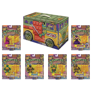 Teenage Mutant Ninja Turtles: Retro Rotocast SDCC 2020 Action Figure 6-Pack by Playmates