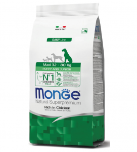 Monge - Natural Superpremium - Maxi Puppy&Junior - 12 kg