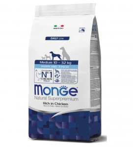 Monge - Natural Superpremium - Medium Puppy&Junior - 12 kg