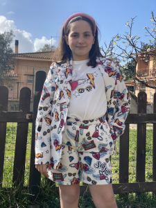 Giacca Bambina Vicolo Girl Fantasia Pop